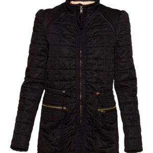 Aritzia Wilfred black Marquis quilted jacket 2 xs